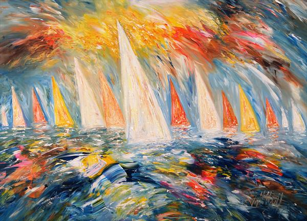 Sailing M 3 by Peter Nottrott