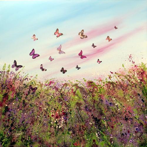Wild Butterfly Meadow by Linda Tennant