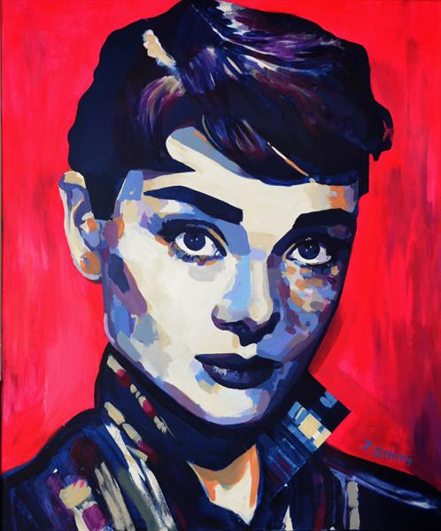 Audrey Hepburn #4 by Jason Smith
