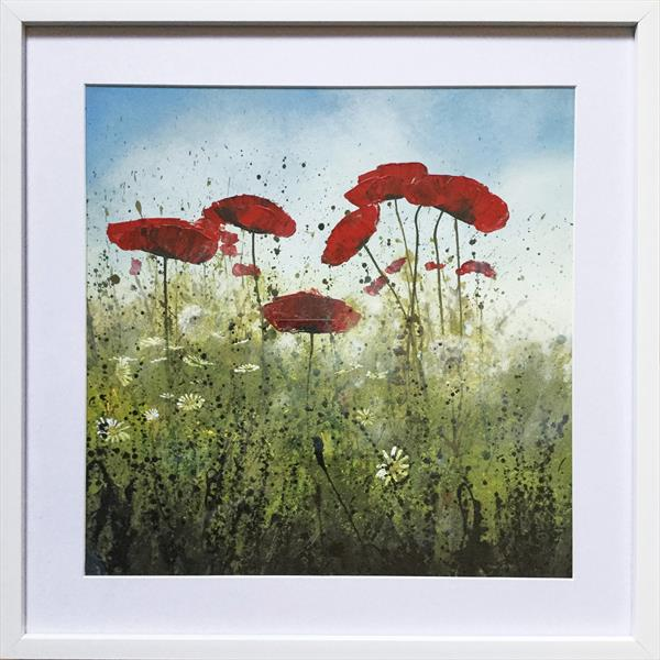 Remembrance Poppies Meadow I by Beatrice   Cawood