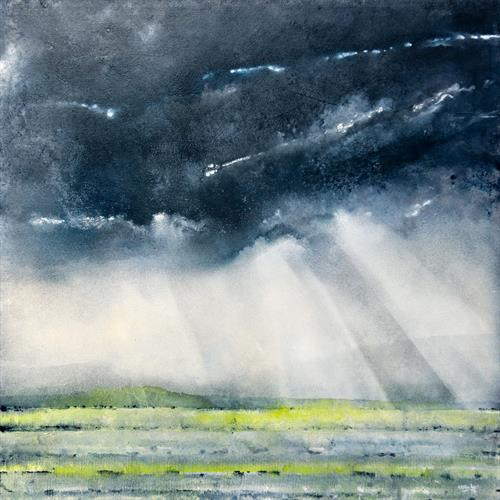 Spring Storm Passing by Simon Fairless