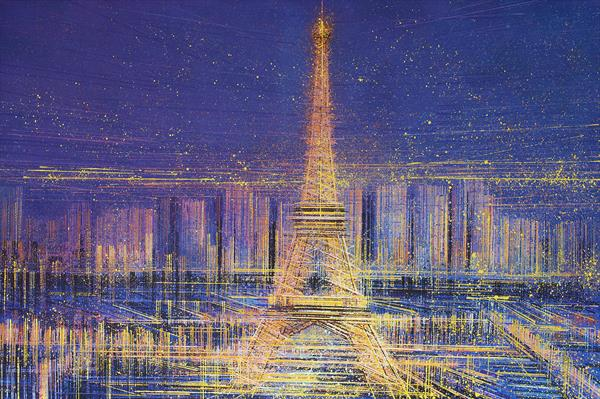 Paris - The City Of Lights by Marc Todd