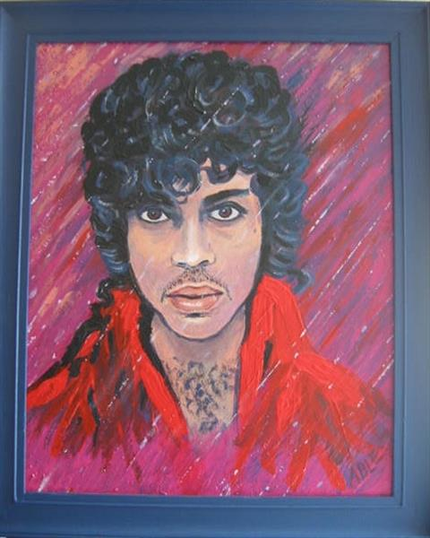Prince (Purple rain) by Colin Able