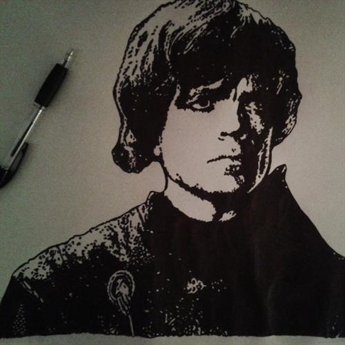 tyrion portrait game of thrones  by Richard Parker