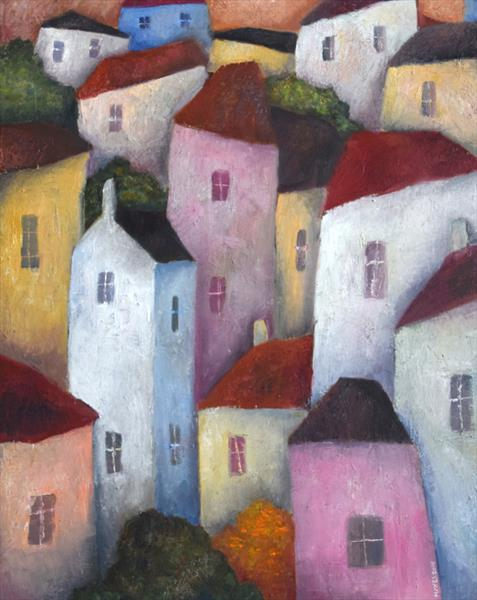 Old Town Houses by Jeremy Mayes
