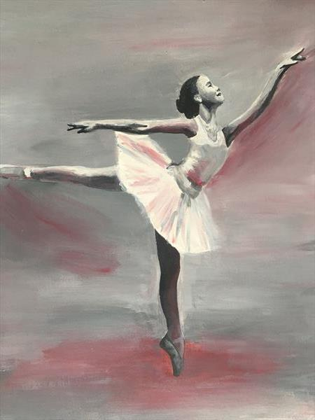 Ballet dancer by hannah musial