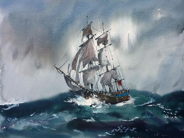 Endeavour in Trouble by Ken  Hayes
