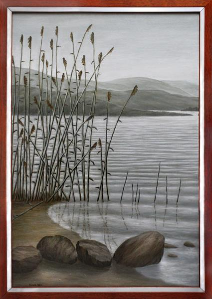 Rocks Ripples and Reeds by Ronald Haber