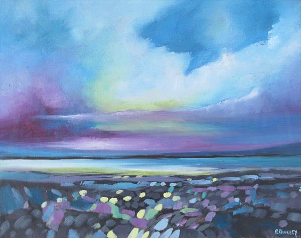 Small Seascape 3. by Pierre Dingley