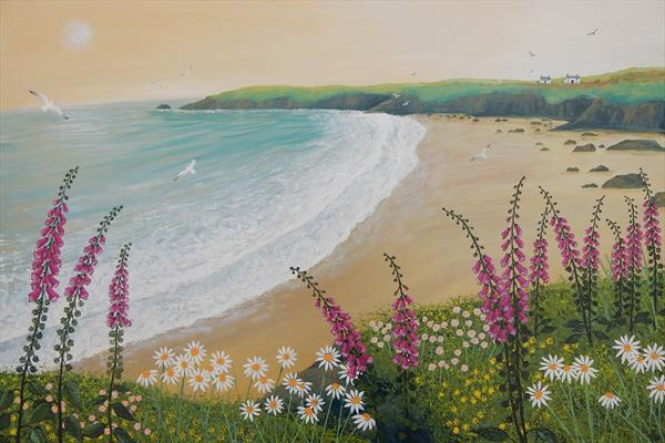 Dawn Over Foxglove Bay by Josephine Grundy