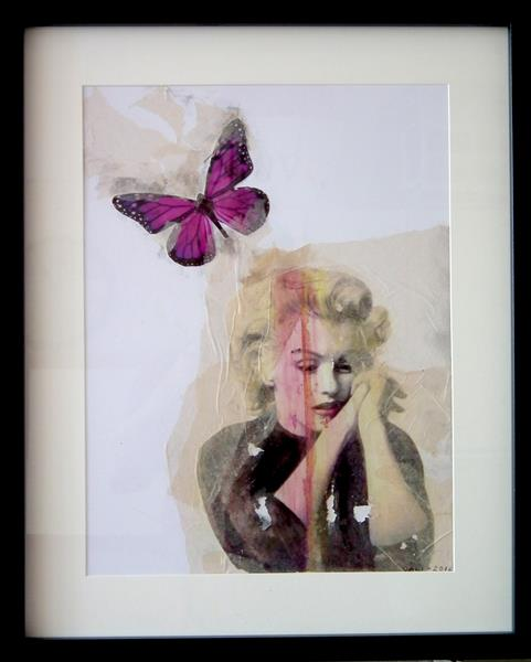 """Marilyn Monroe """"And sometimes Good things fall apart"""" by Bali Love jenkins"""
