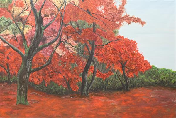 Autumn Forest  by Christine Bleny