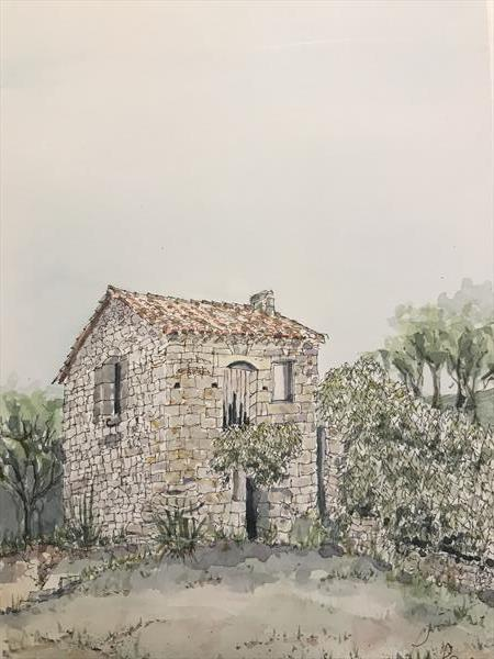 Old jail in Montpeyroux by Peter Blake