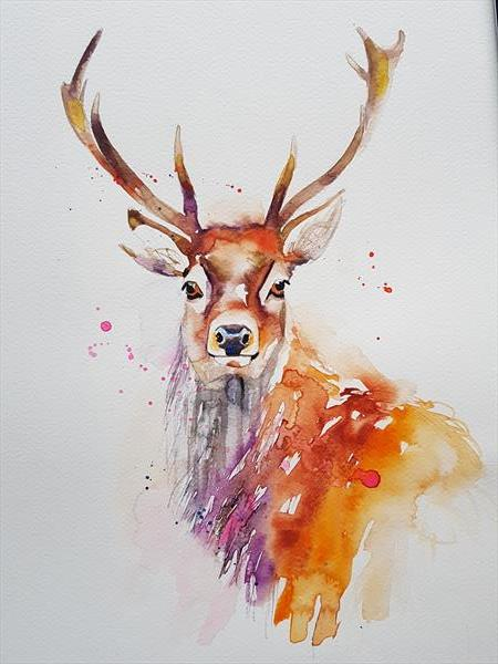 Stag by Eleanor SMITH