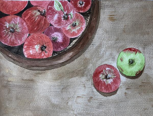 Colourful apples  by Meimanat Shafieipour Kermani