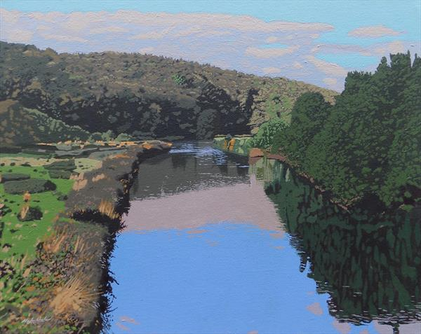 Glen Massan River by Malcolm Warrilow