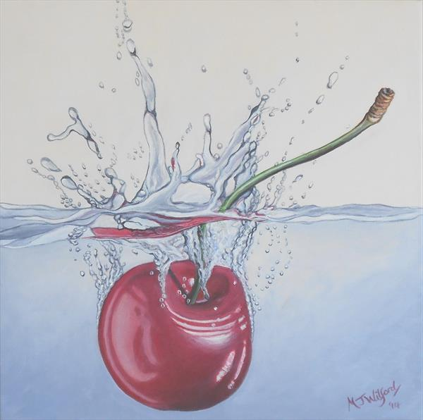 Cherry Splash by Marion Wilford