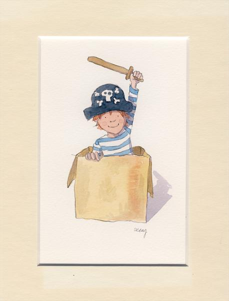 Pirate in Box by Claire Keay