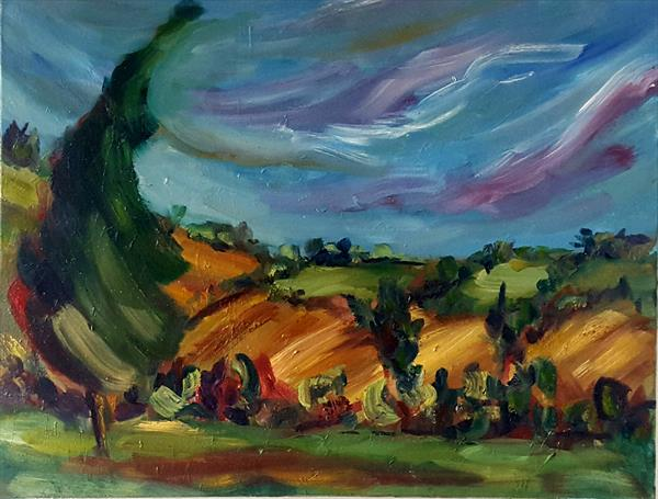 Golden Fields of Late Summer by niki purcell
