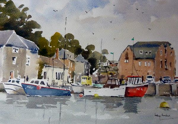 Padstow Harbour by Melvyn Randall
