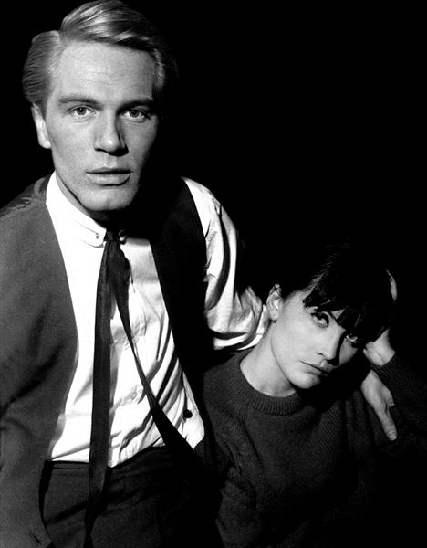 Adam Faith & Sandie Shaw - Limited Edition by Paul Berriff