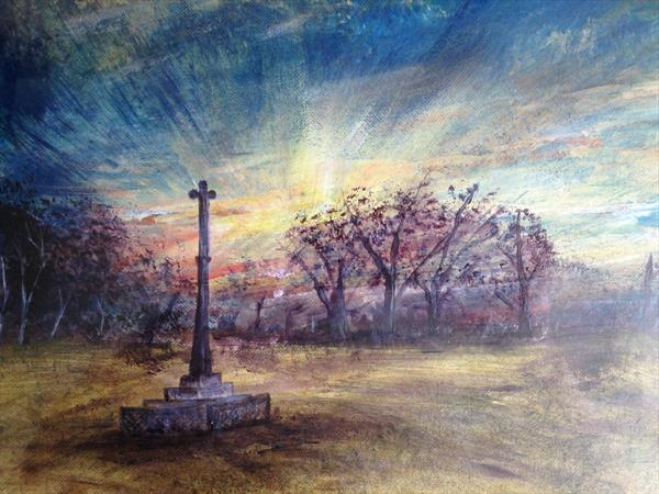 Katherine's Cross, Ampthill by Mike Kent