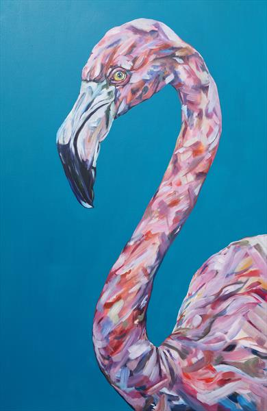 Funky Flamingo by Sam Fenner