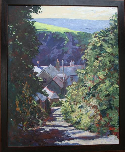 Rose Hill, Port Isaac by Wendy Clouse   / Balkwill