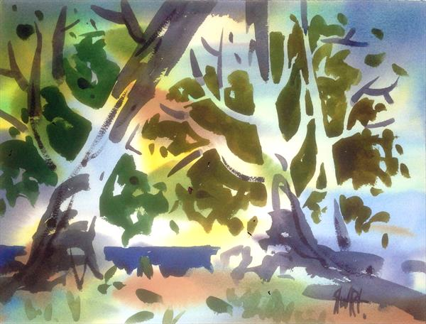 'Forest Composition' (No,2) by Lee Stewart