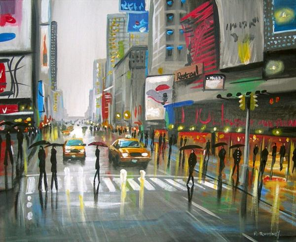 streets of new york by pete rumney