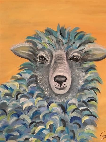 Wise old sheep by KIM WILFORD