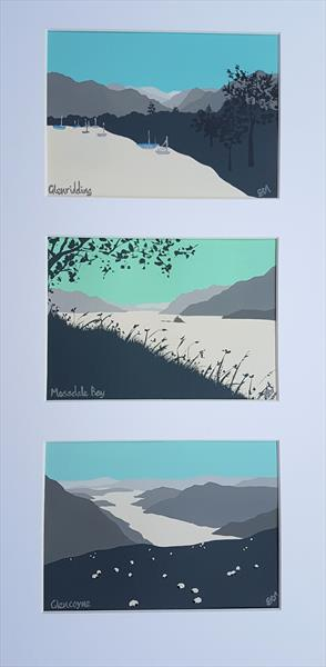 Ullswater scenes, The Lake District by Sam Martin
