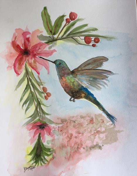 Humming Bird by mousumi sahoo