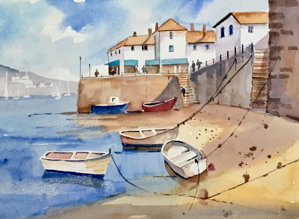 FOWEY HARBOUR, CORNWALL by Susan Shaw
