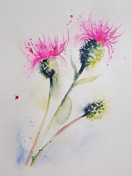 Thistle by Eleanor SMITH