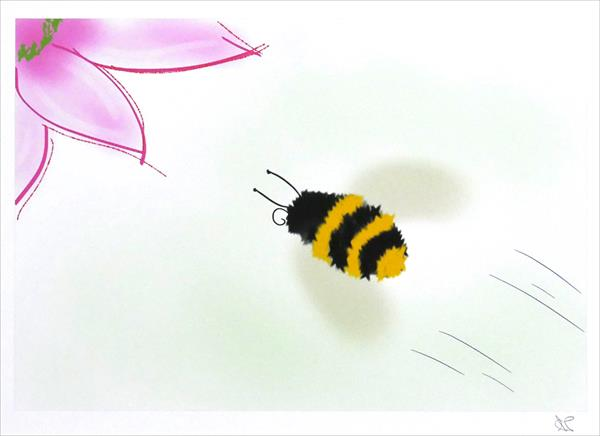 Busy Bee by Ann Mcphillips