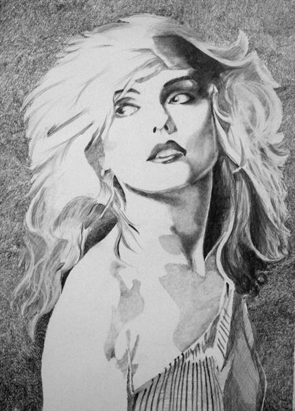 Debbie Harry - in the Flesh by Joe Hendry
