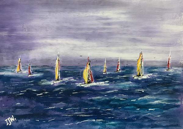 Regatta by Ian Walder