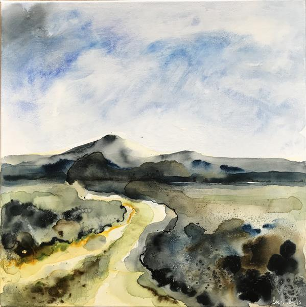 Autumn Landscape #01 - 'The Winding Route' by Luci Power