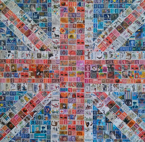 Square Union Jack by Gary Hogben