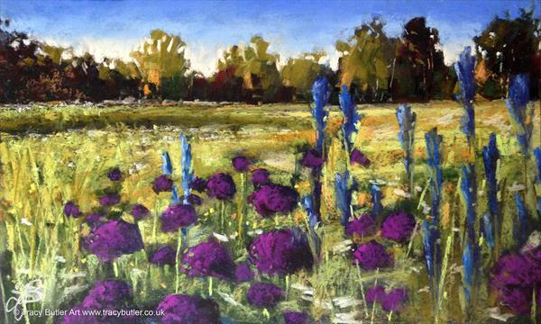 Allium Meadow by Tracy Butler