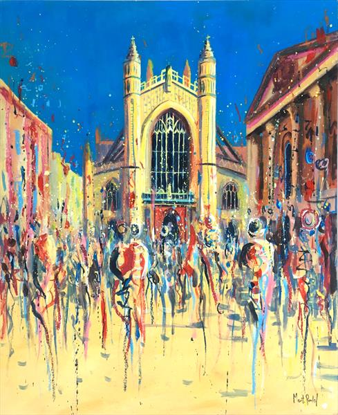 Bath Abbey by Martin Packford