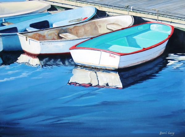 Lymington Boats by Demi Lang