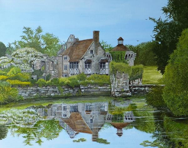 Old Scotney castle by Michael Blake