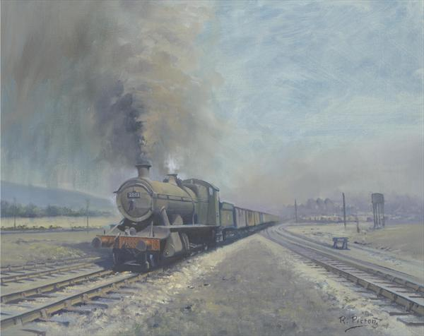 Burrows Sidings, Swansea by Richard Picton