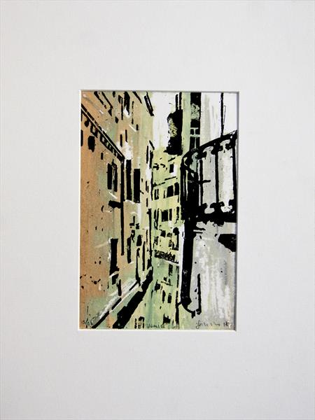 Venice Prints -Series 1 Print No 13 by Ian Mckay