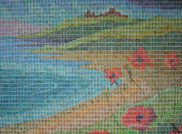 Seascape With Poppies by Peter Mason