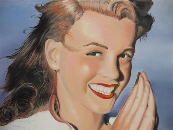 Norma Jean (Baker) by Robin Child