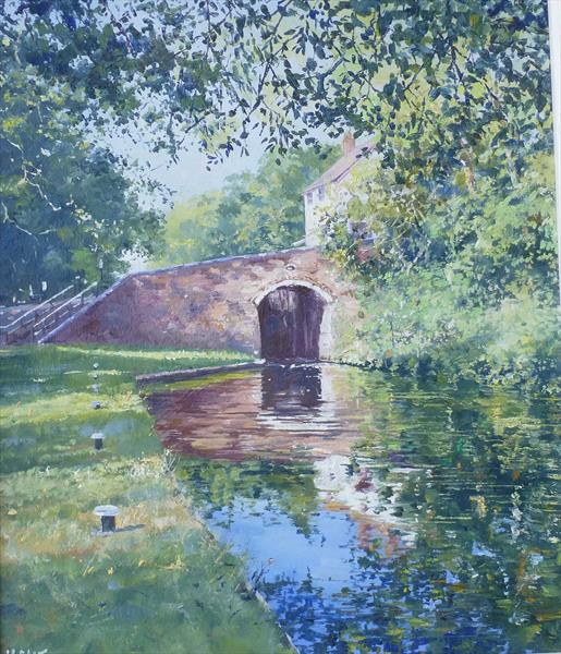 Kinver Canal - Framed by Michael Salt