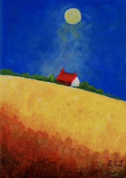 House on the Hill by Jean Tatton Jones
